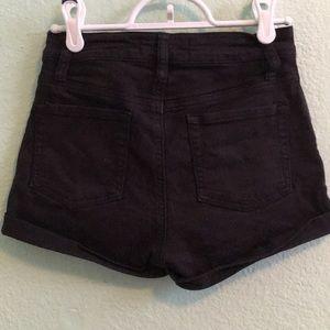 PacSun Shorts - black shorts